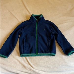 Polo Ralph Lauren fleece cardigan 4T